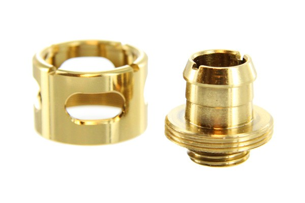 "Monsoon 19/13mm (ID 1/2"" OD 3/4"") kompressionsanslutning - Guld"