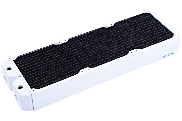 Alphacool NexXxoS UT60 Full Koppar 420mm radiator - Vit Specialversion