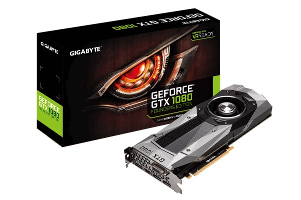 Gigabyte GeForce GTX 1080 Founders Edition 8.192 MB GDDR5X