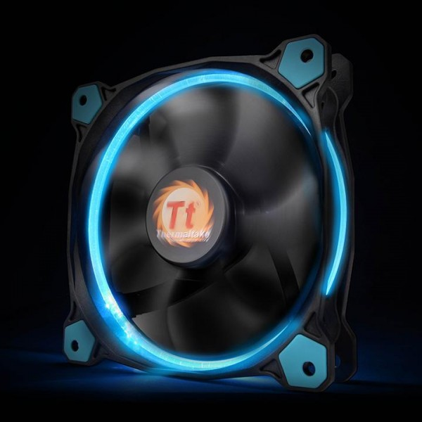 Thermaltake Riing 14 LED blå, chassifläkt - (120x120x25mm)