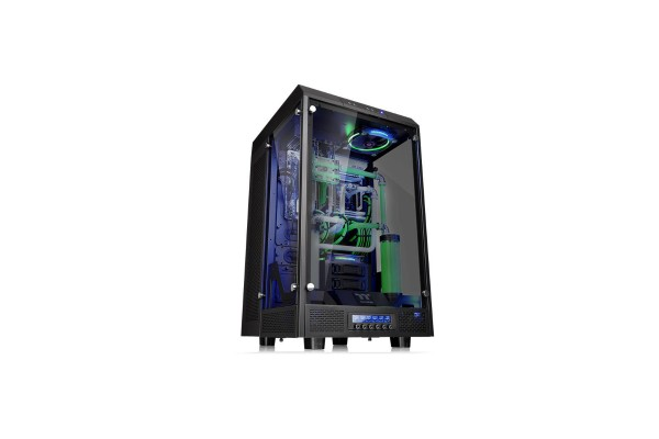 Thermaltake The Tower 900 Tempered Glass - Black Edition